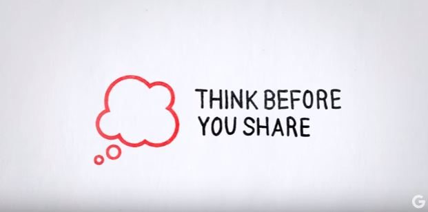 Think Before You Share