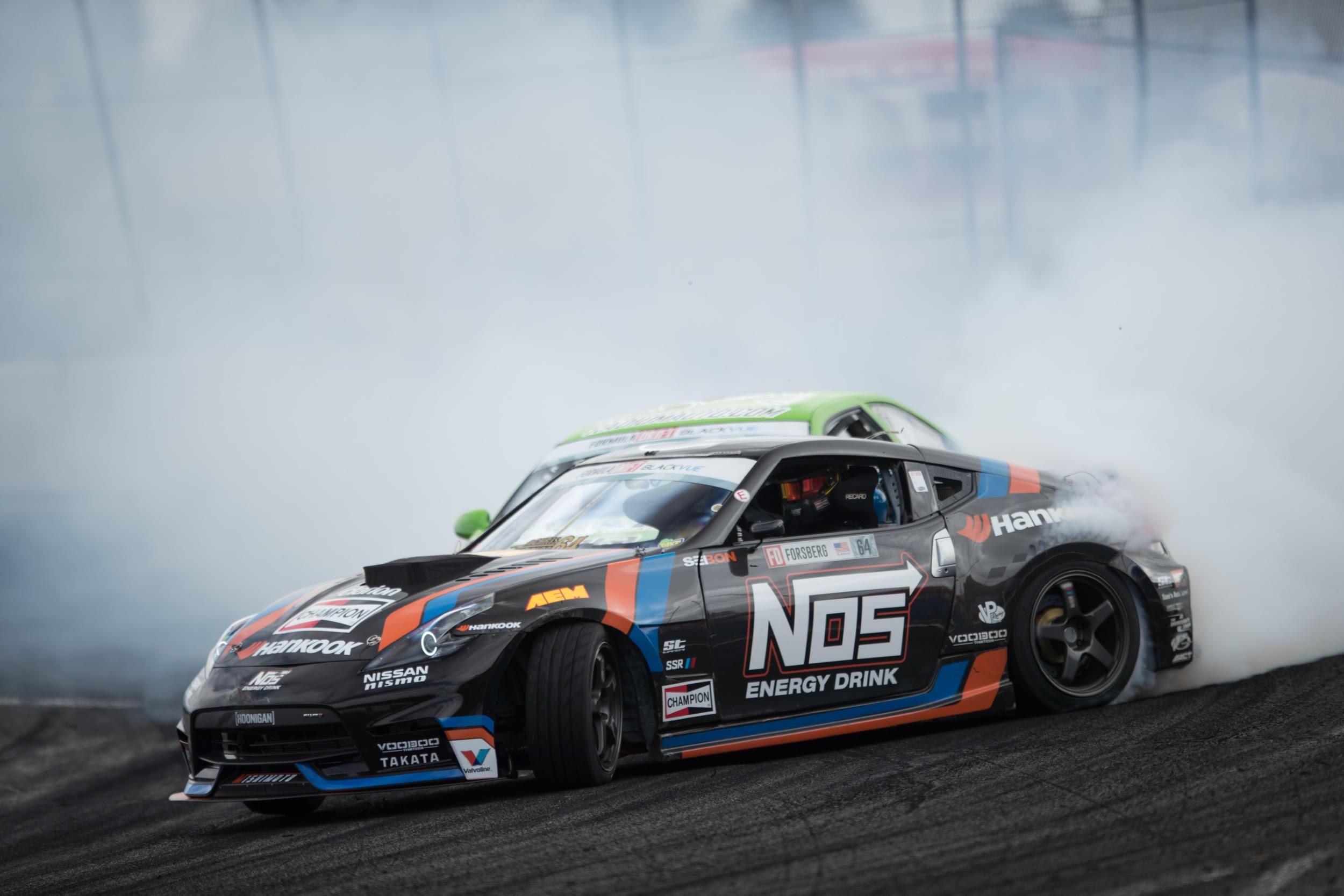 Chris Forsberg, Pimpin Puncak Formula Drift Putaran 6
