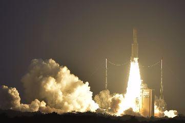 Satelit Telkom 3S Menuju Orbit Mengawal Nusantara